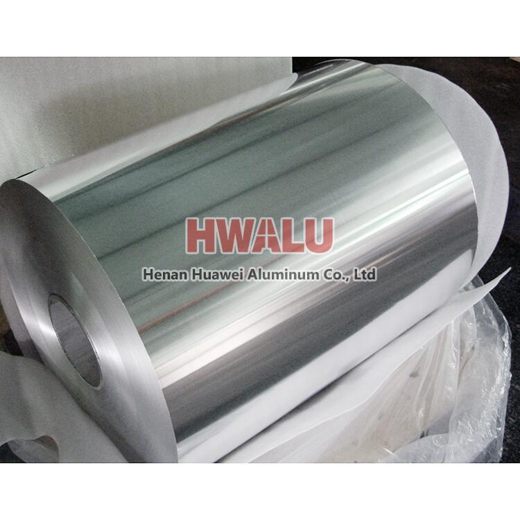 aluminum foil for battery grade