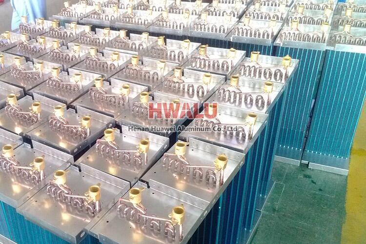 hydrophilic aluminum foil evaporator