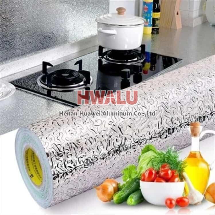 kitchen oil-proof stickers aluminum foil