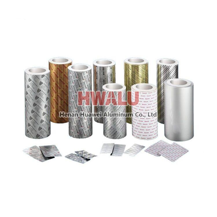 aluminum foil tablet packaging