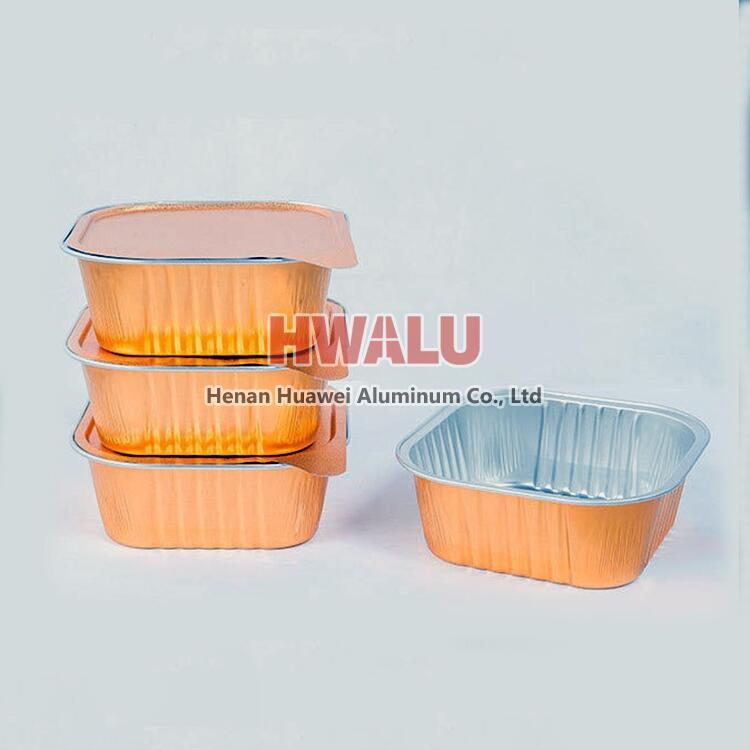 aluminum foil lid for aluminum container