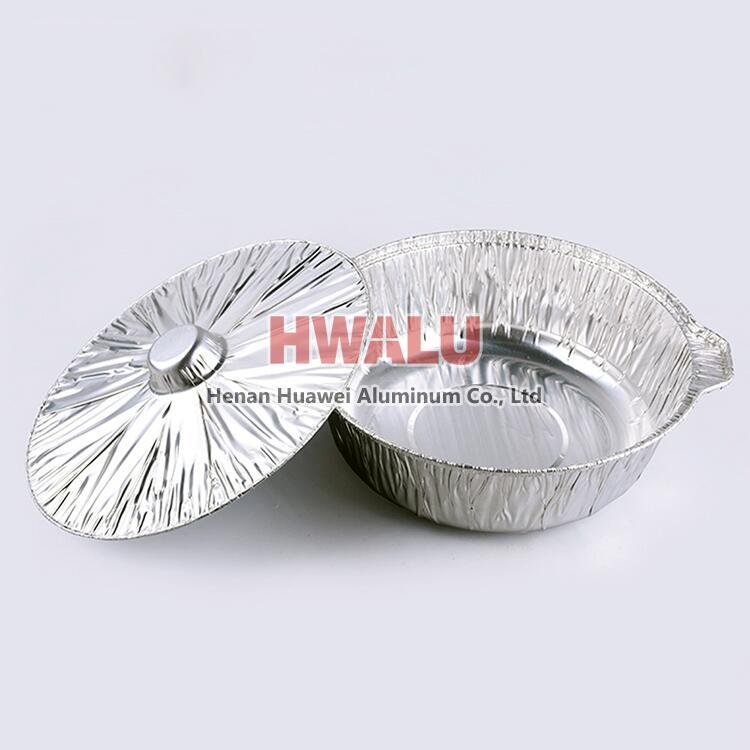 aluminum foil hot pot